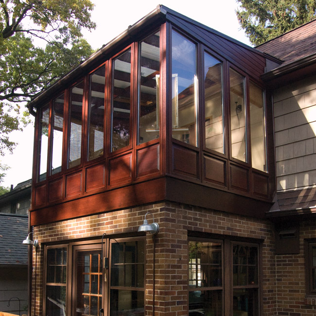 Conservatory options styles prices conservatory for Second floor sunroom