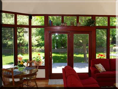Conservatory options styles prices conservatory for Sunroom interior walls
