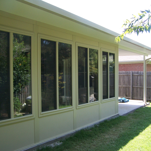 Composite Sun Room_Studio Style w/ Patio Cover