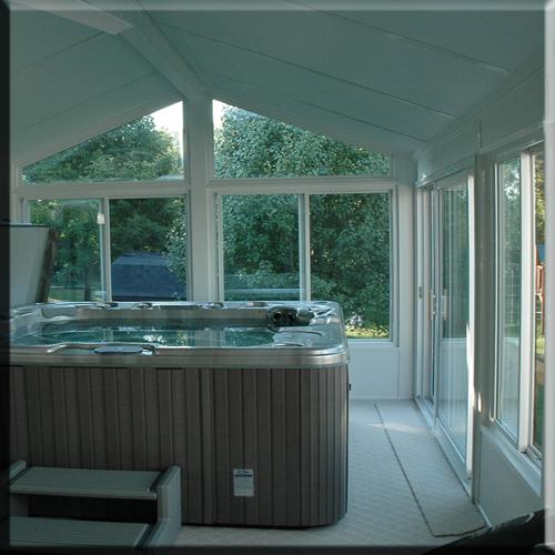 Spa Enclosure-Sunroom Addition
