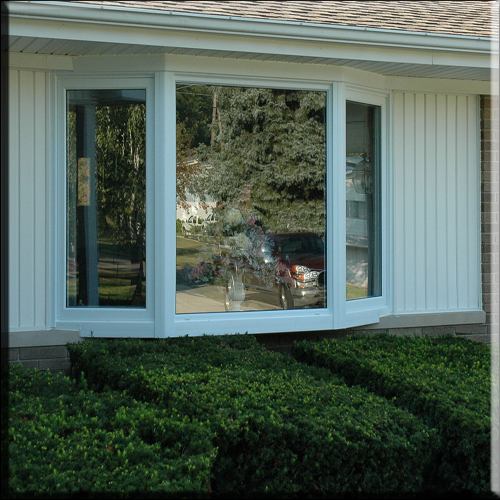 Replacing aluminum frame windows with vinyl louisiana for Vinyl bay window